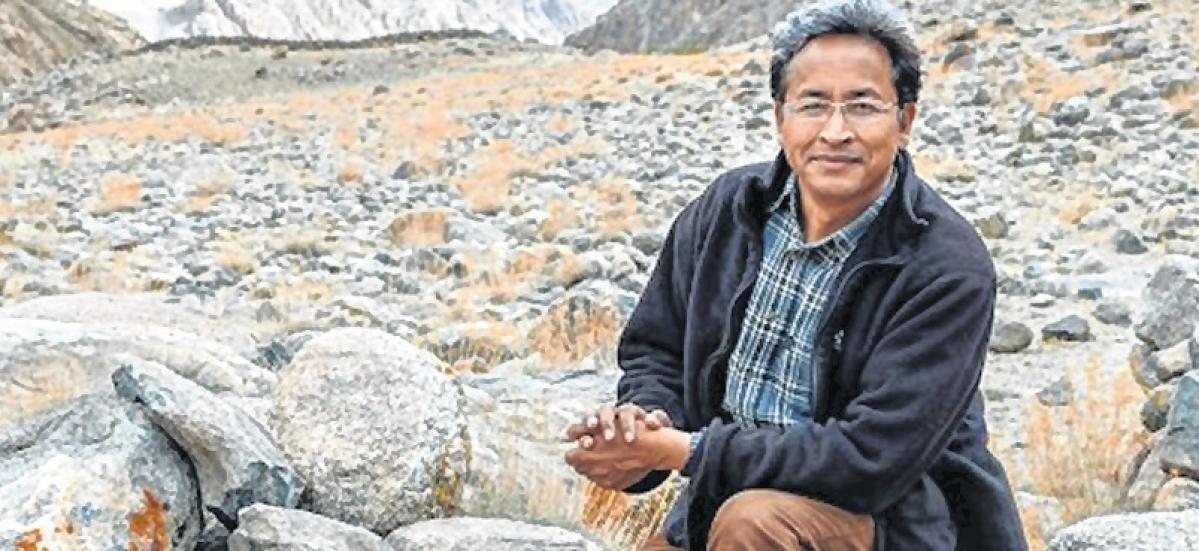 Innovator Sonam Wangchuk awarded honorary D.Litt degree