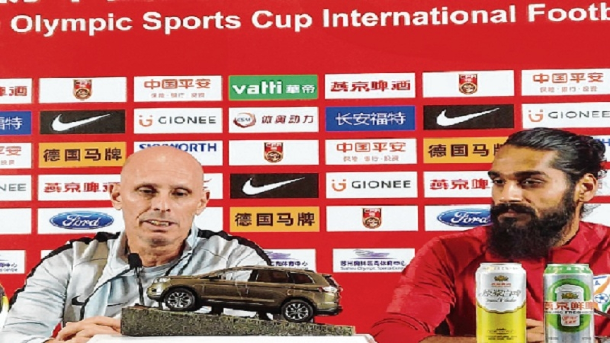 National coach Stephen Constantine confident of India's good showing against China