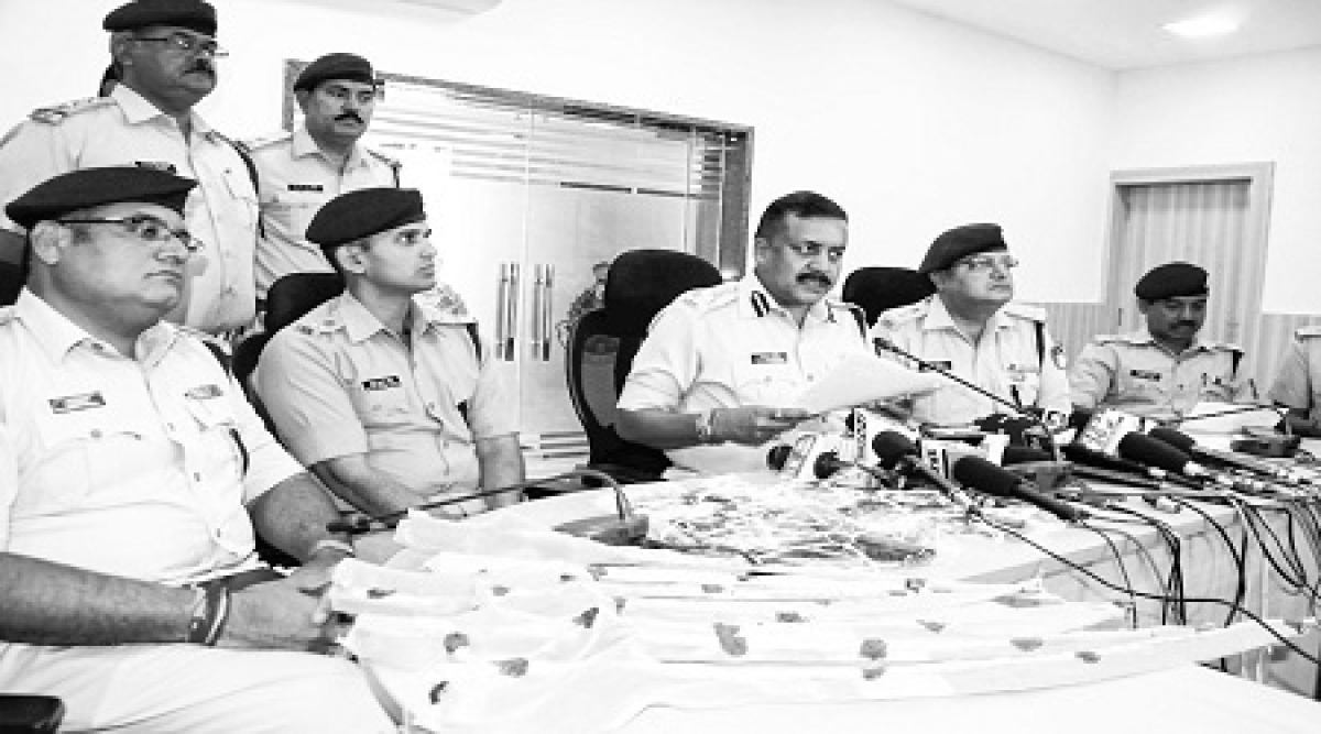 8 arrested under Arms Act