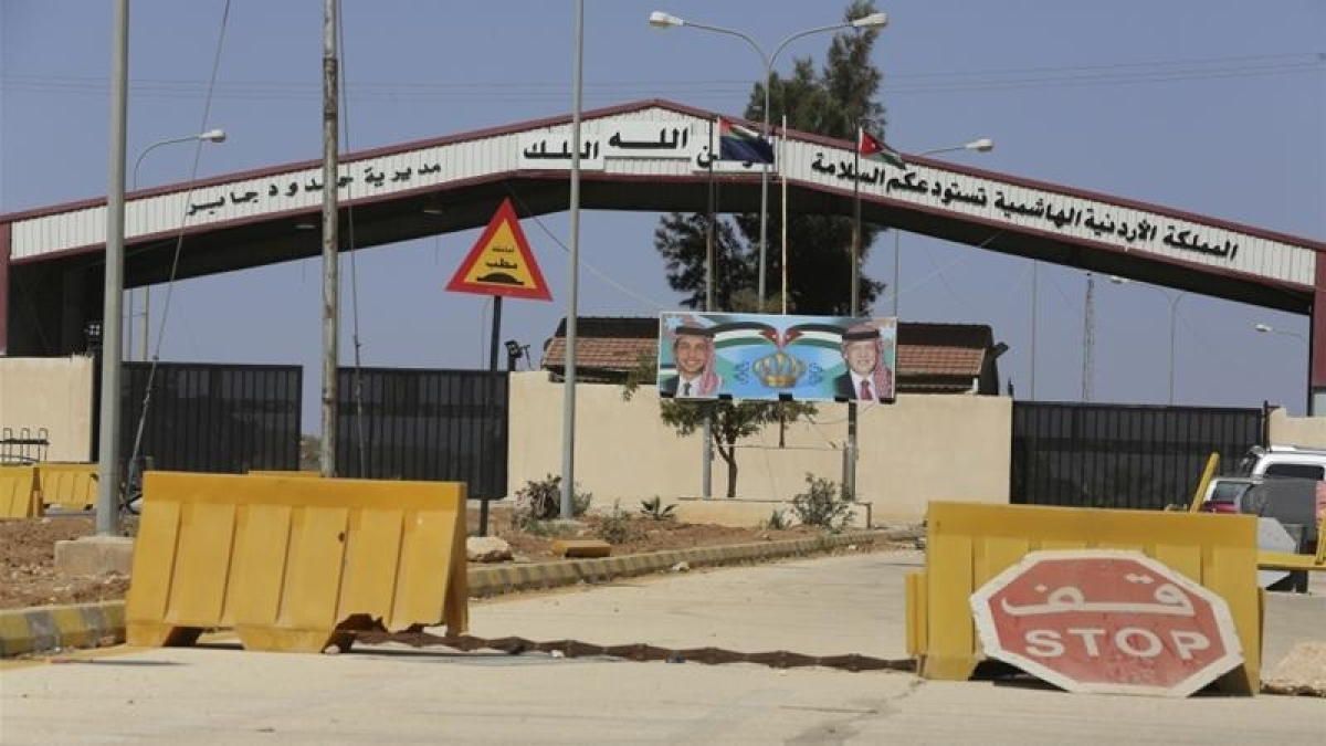 Jordan reopens main border post with Syria after 3 years