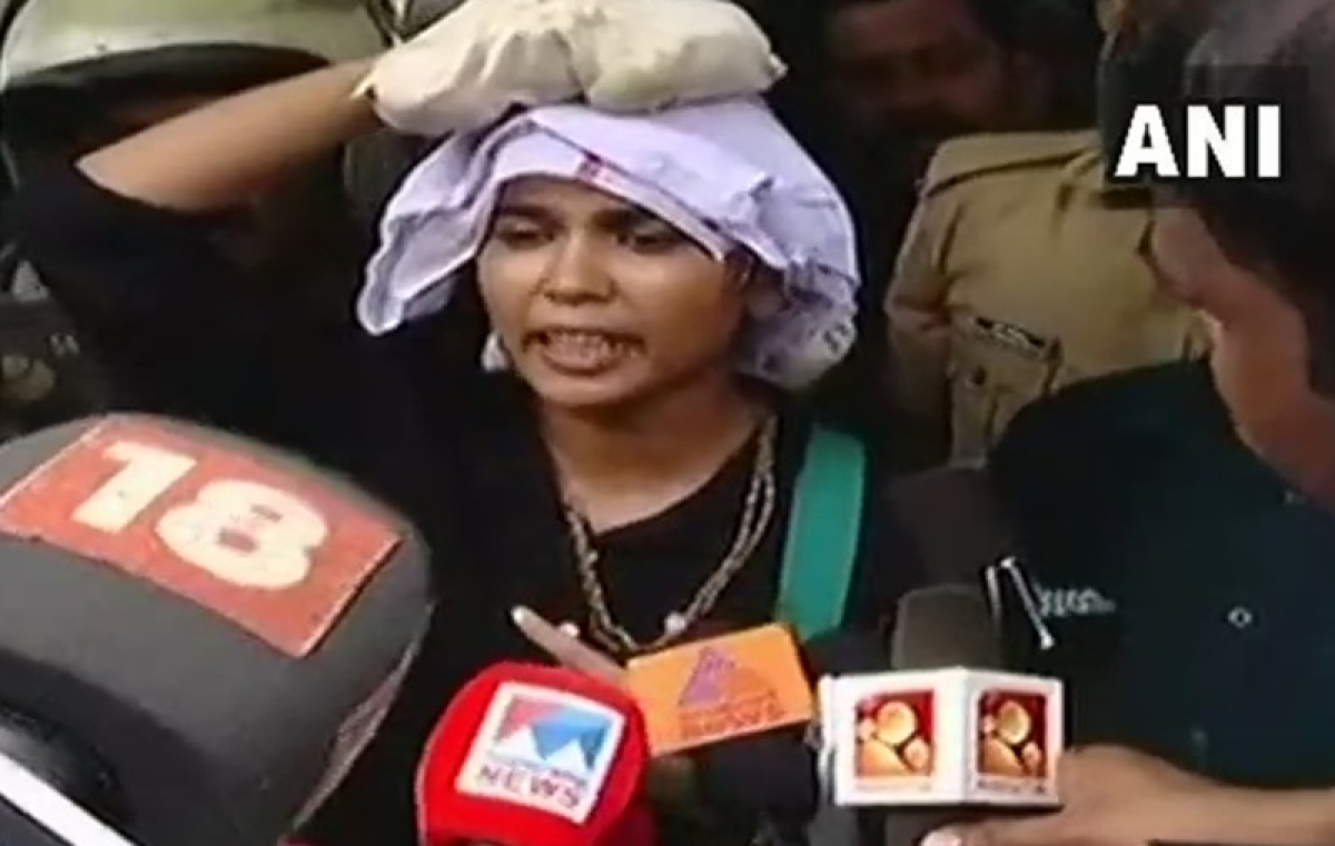 Sabarimala row: Rehana Fathima, activist who tried to enter temple, arrested over Facebook posts