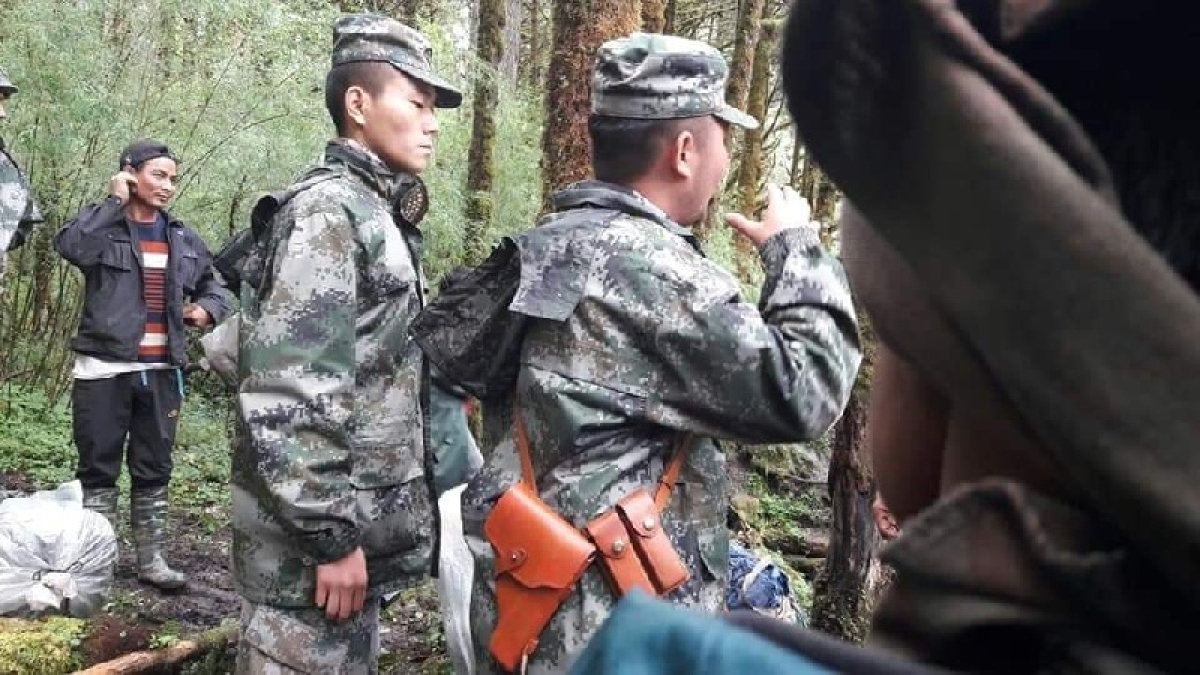 Chinese troops crossed LAC in Arunachal sector