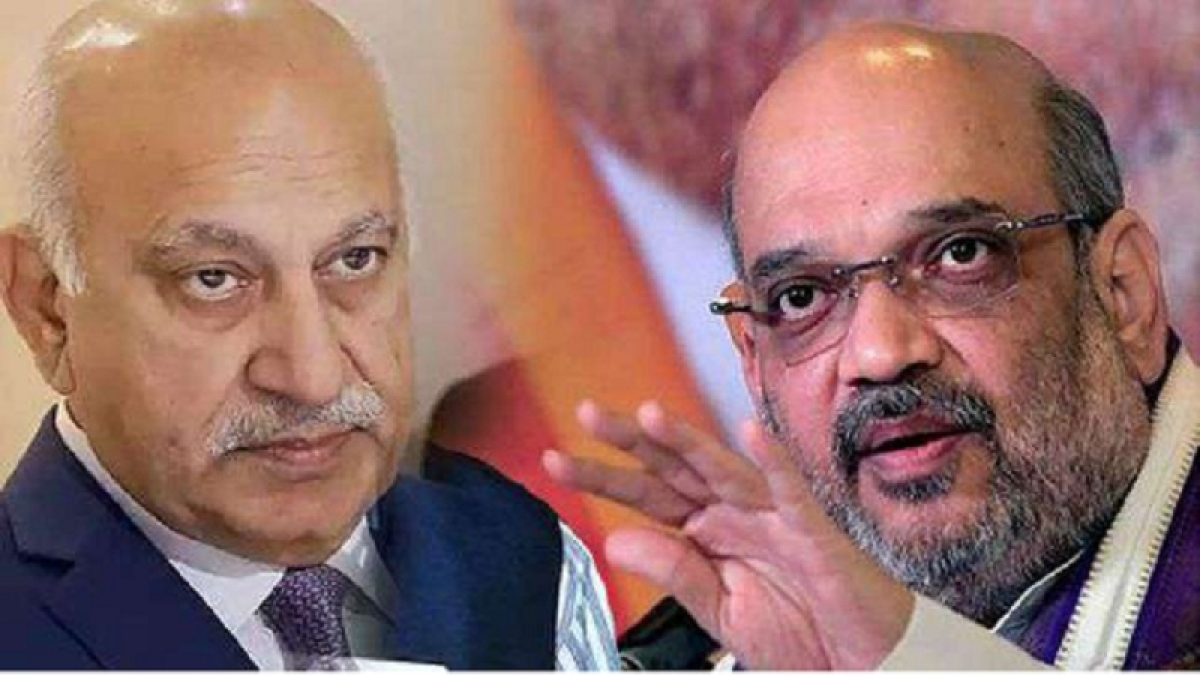 Allegations against Akbar need to be verified: Amit Shah