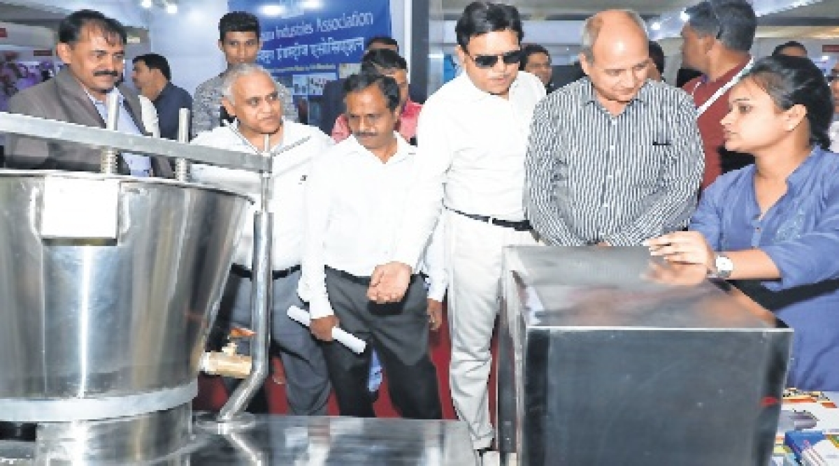 Indore: international industry & tech expo kicked off