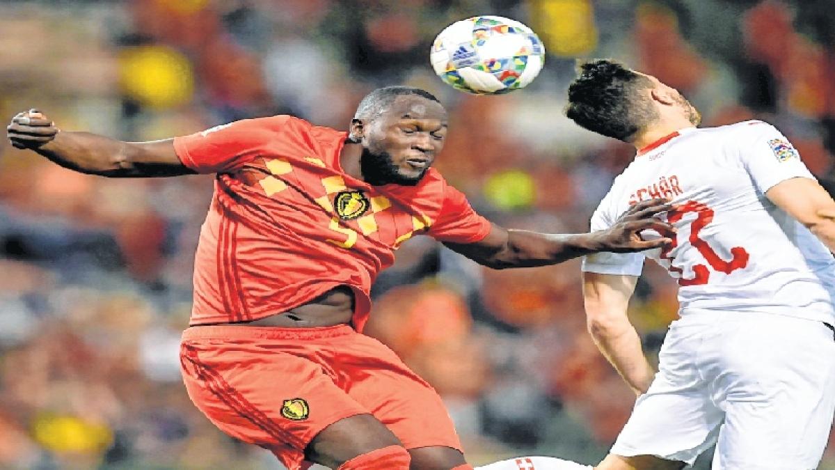 Romelu Lukaku stars in Belgium's win over Switzerland