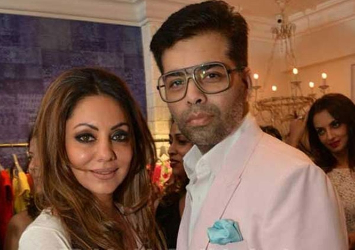 Gauri Khan's only contribution to 'Kuch Kuch Hota Hai' was holding Aryans's delivery: Karan Johar