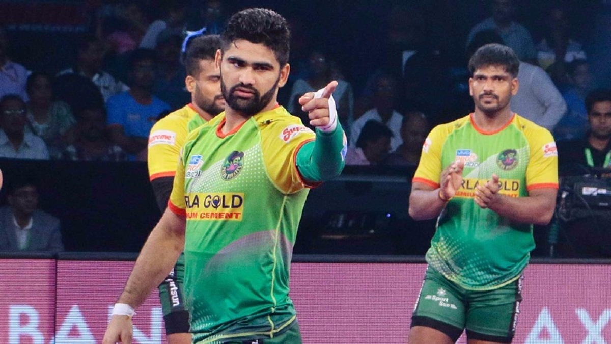 PKL 2018: Pardeep Narwal's super raids help Patna Pirates to beat Jaipur Pink Panthers 41-30