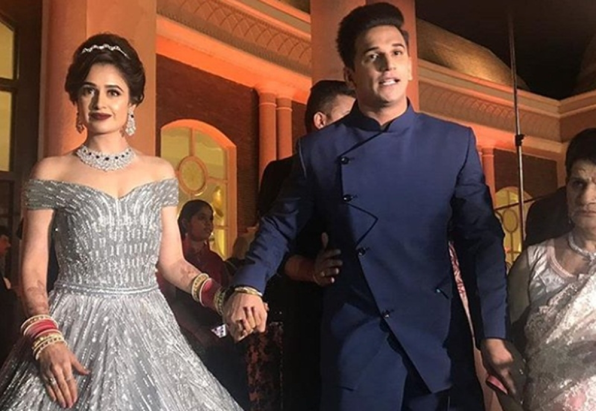 In Pictures! Prince Narula, Yuvika Chaudhary's wedding reception was a big fat Indian affair