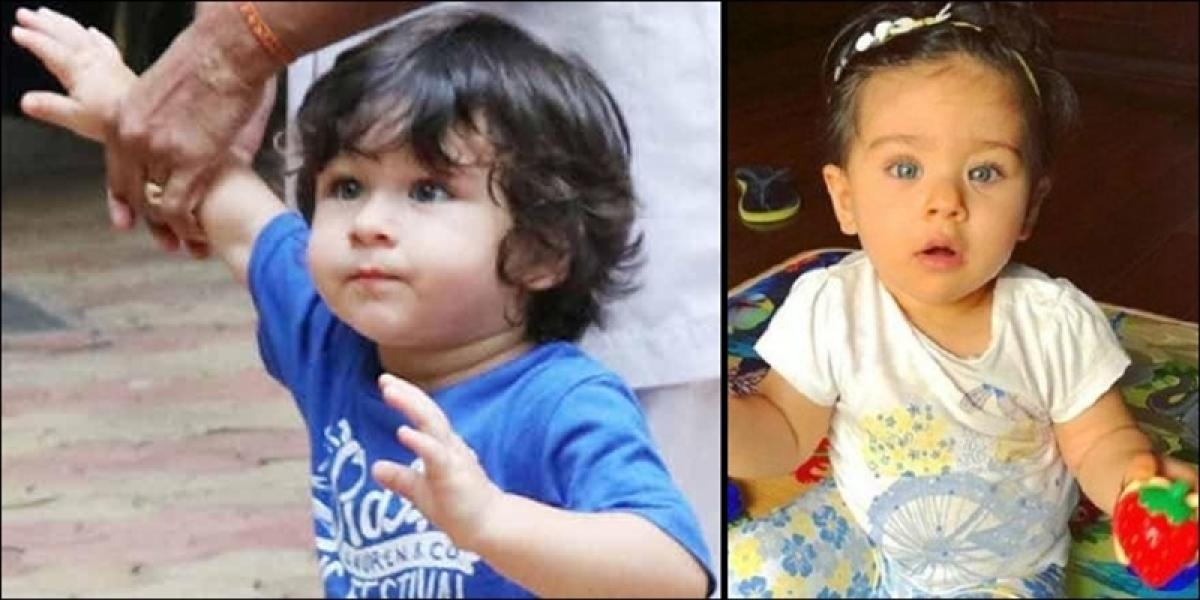 Taimur and Inaaya look awwdorable as they celebrate the festival of Dussehra