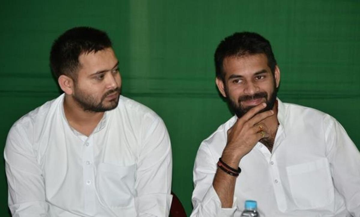 Tejashwi Yadav ducks question on Misa Bharti's 'rift between brothers' remark; Tej Pratap says no infighting