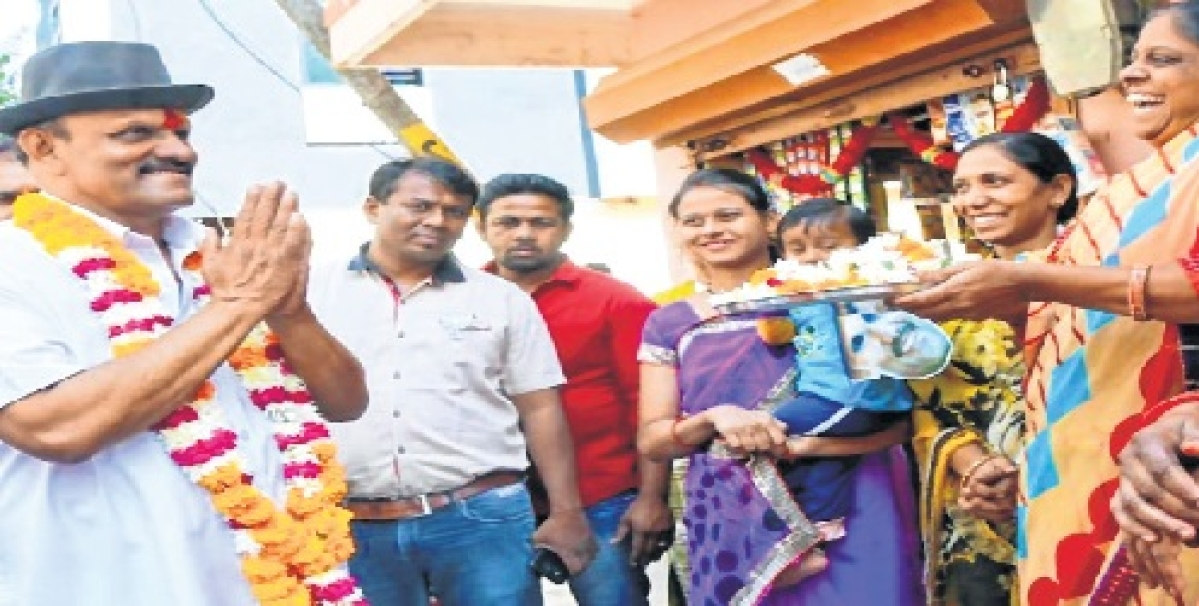 BJP candidate Sudarshan Gupta