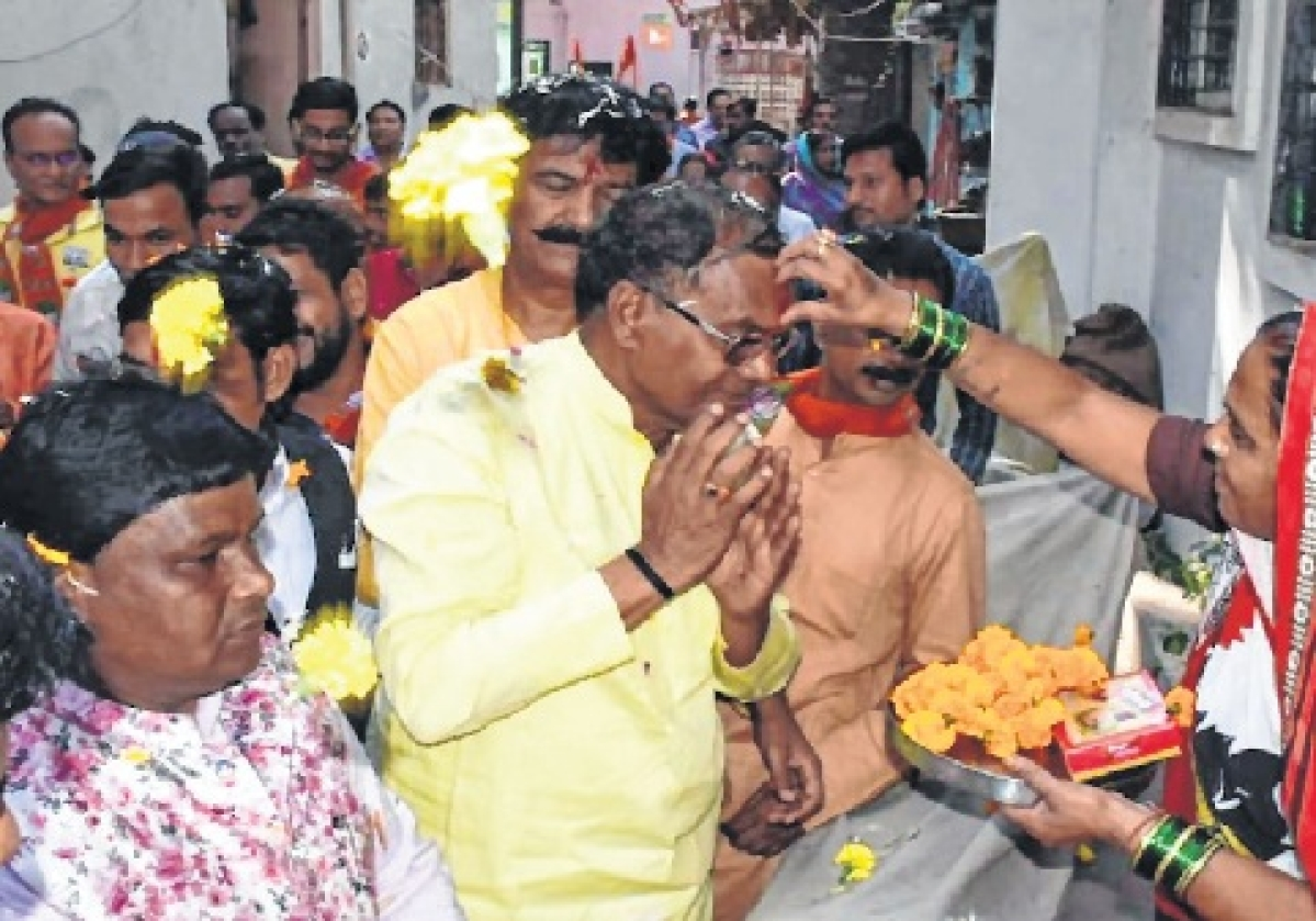 BJP candidate Mahendra Hardia