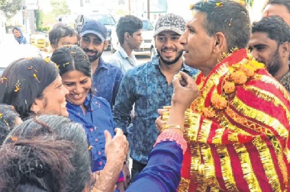Congress candidate Jitu Patwari