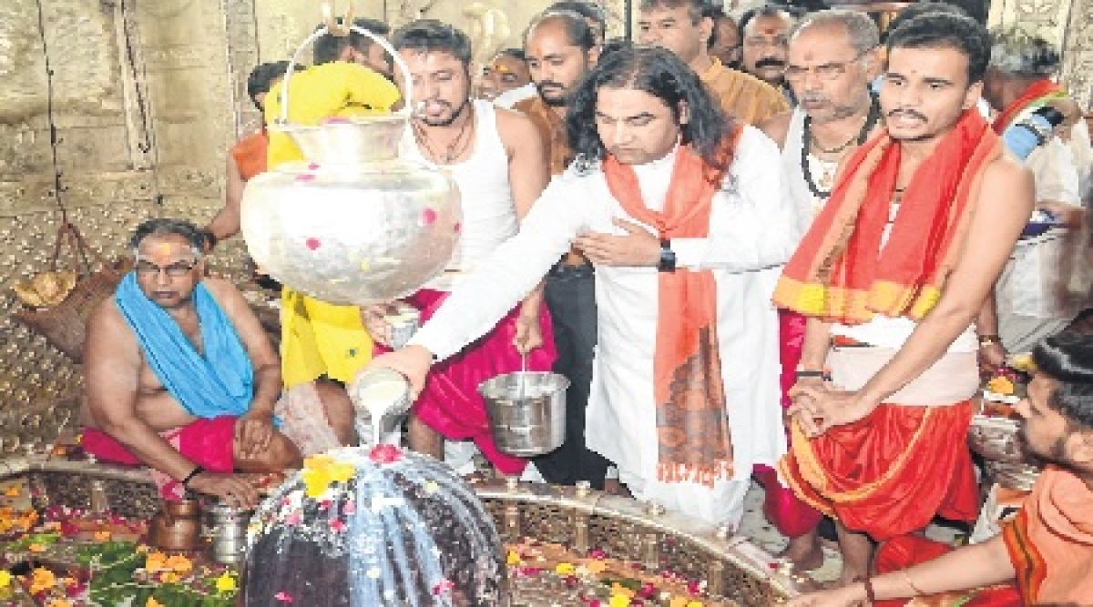 Ujjain: If govt can bring ordinance on SC/ST Act, why not on Ram temple