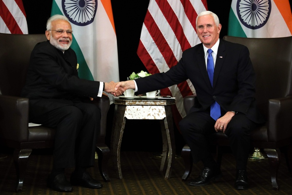 PM Narendra Modi, US VP Mike Pence discuss defence, trade and cooperation in Indo-Pacific