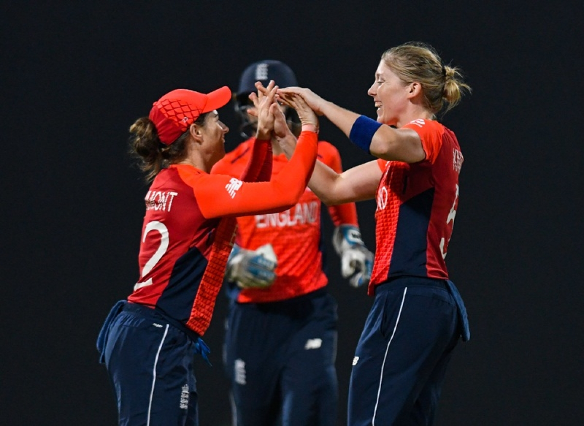 Women's World T20 2018: England beat India by eight wickets to enter final