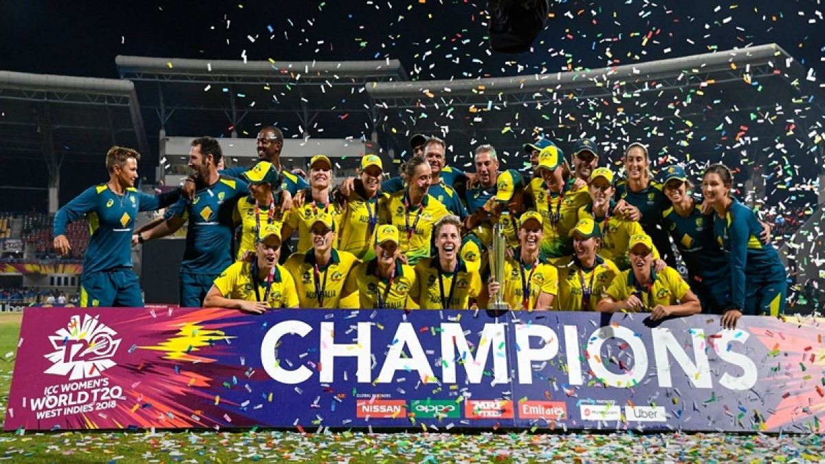 Women's World T20 2018: Australia beat England by eight wickets to claim their fourth World T20 title