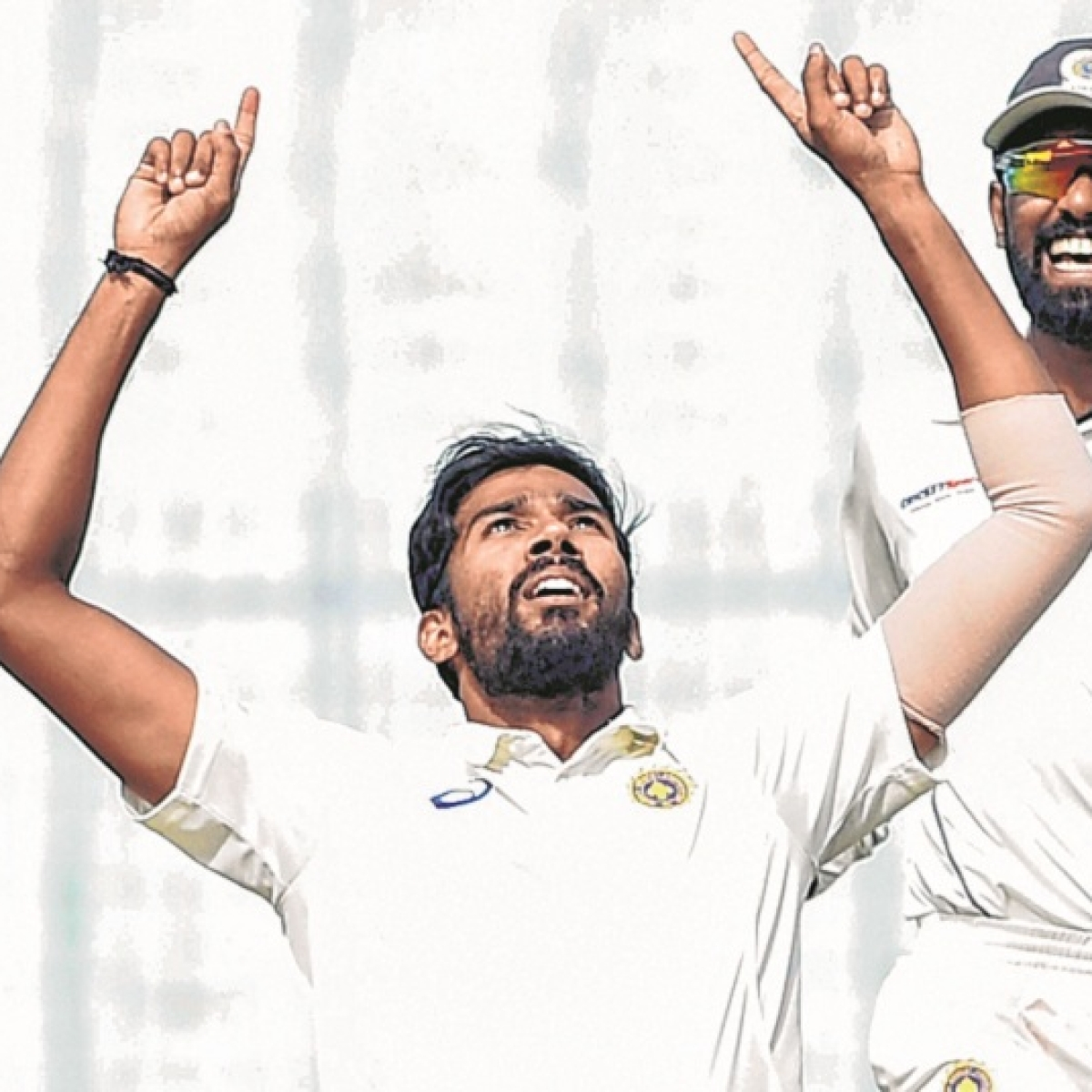 Second unofficial Test, Day 2: Dube, Warrier lead India A fightback after batting collapse