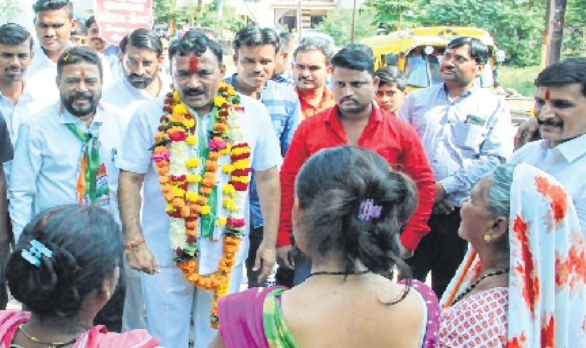 Congress candidate Mohan Sengar