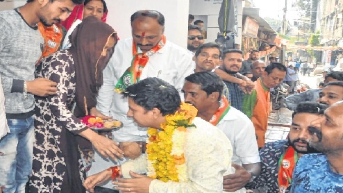 BJP candidate Akash Vijayvargiya