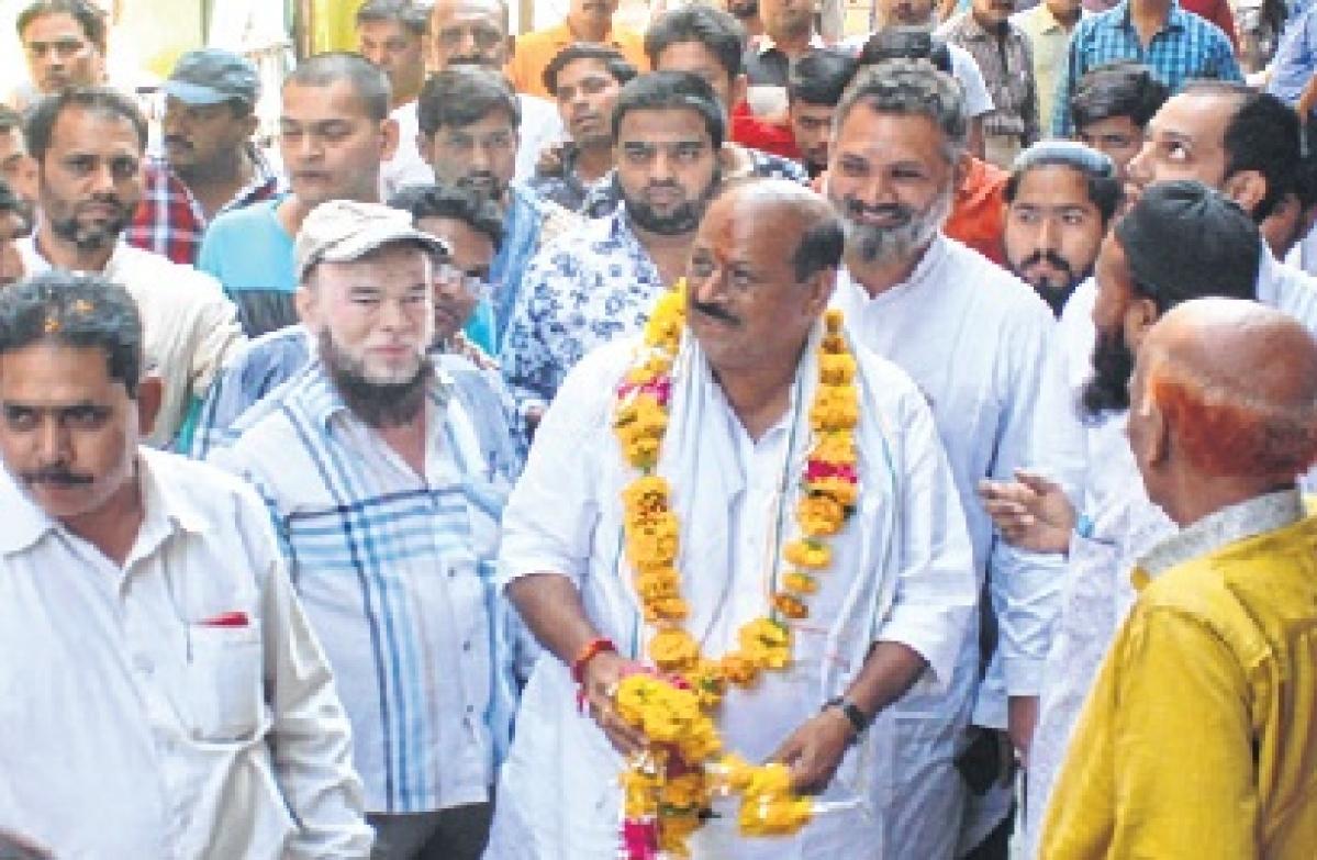 Congress candidate Ashwin Joshi