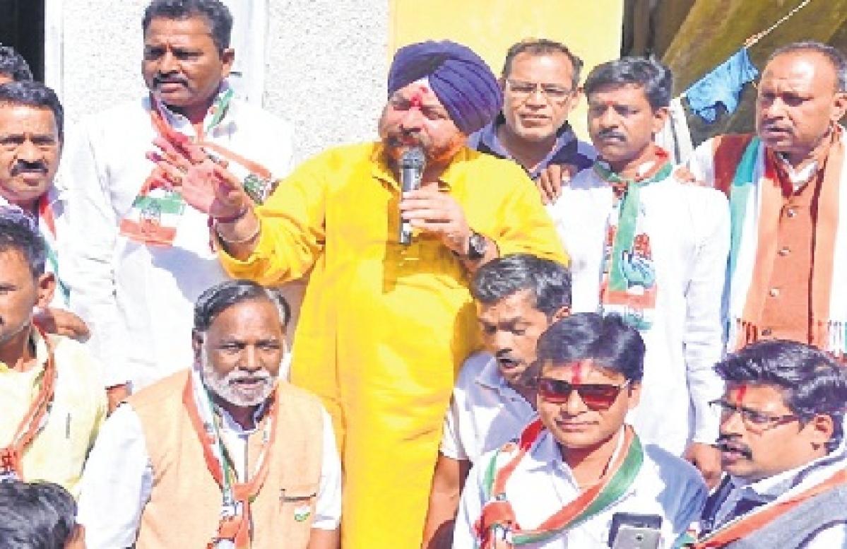 Congress candidate Surjeet Singh Chaddha