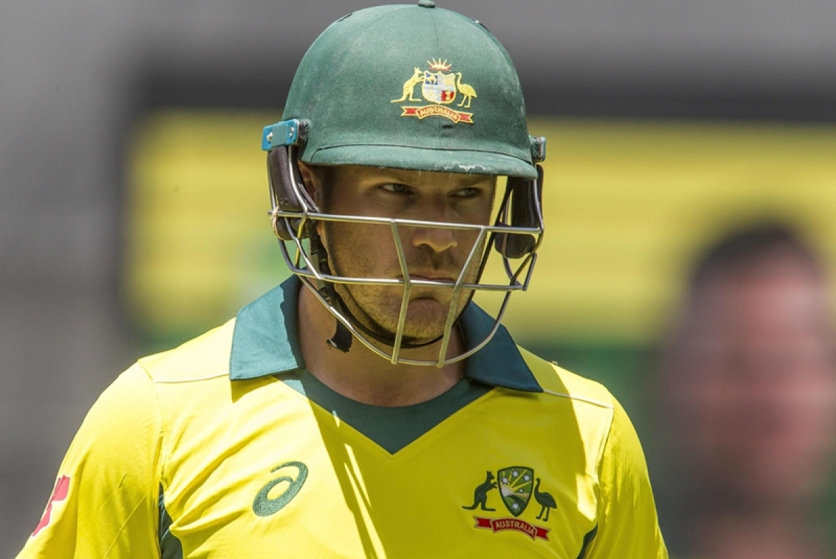 Aaron Finch willing to demote himself