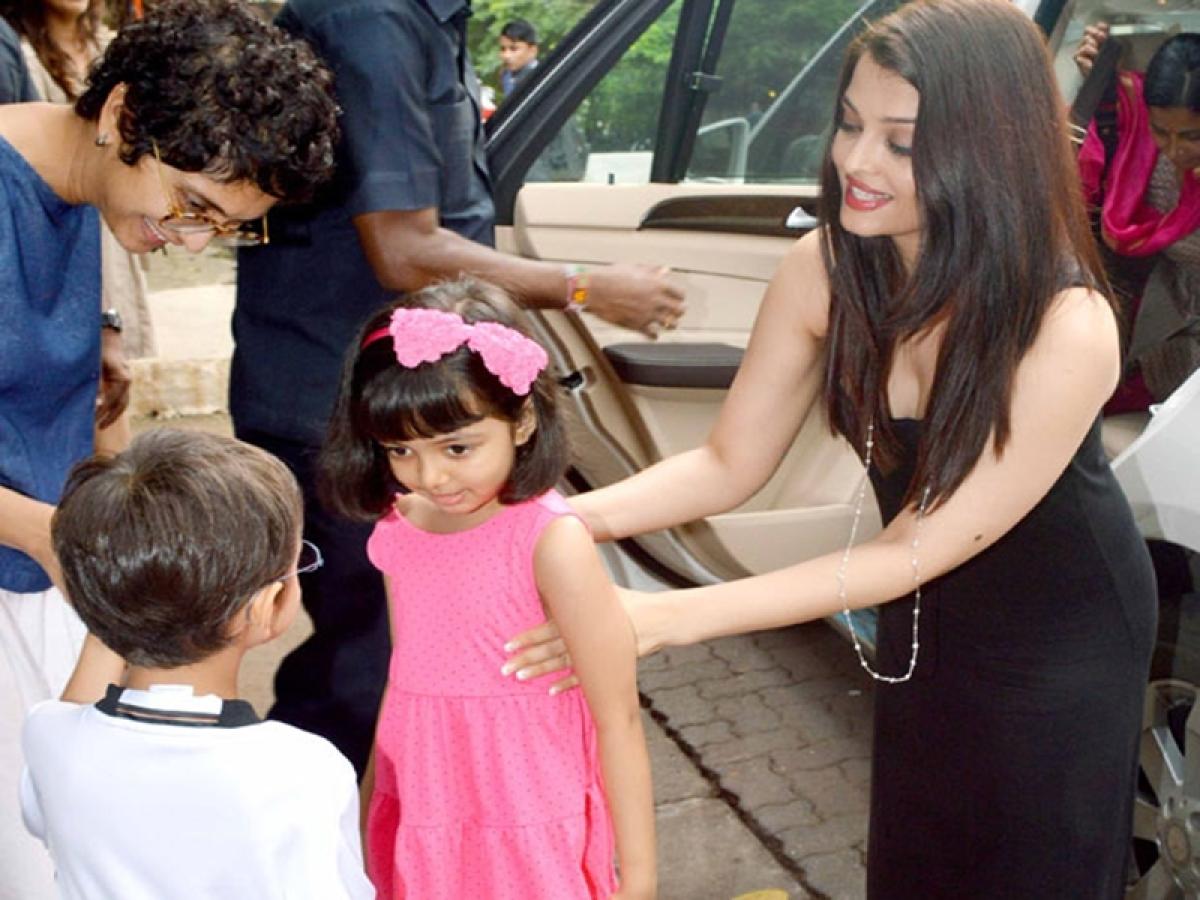 Ramayan: Aamir Khan's son Azad plays Ram, Aishwarya Rai Bachchan's daughter Aaradhya is Sita in a school skit (watch video)