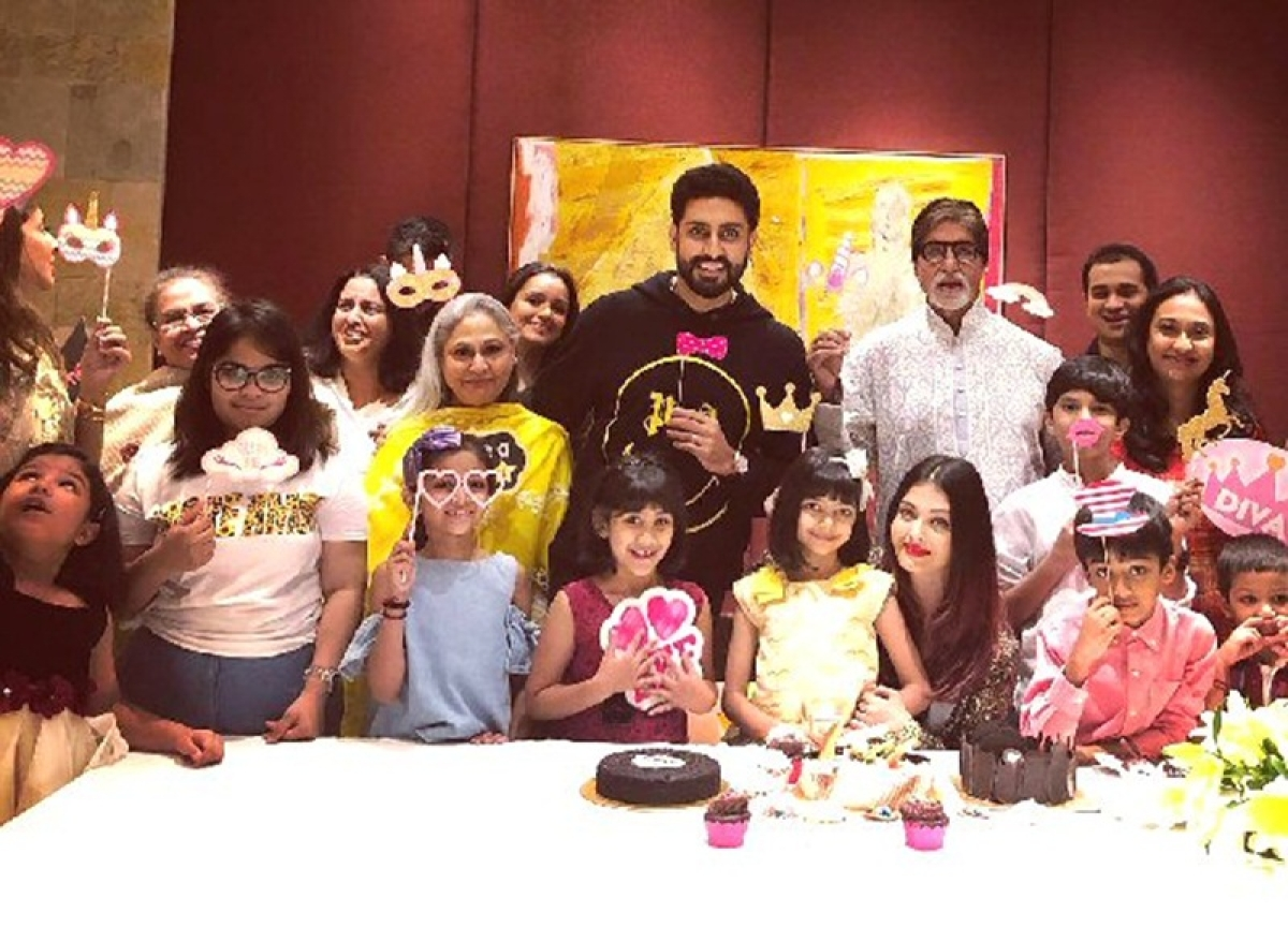 Bachchan family throws the most amazing bash for Aaradhya on her 7th birthday