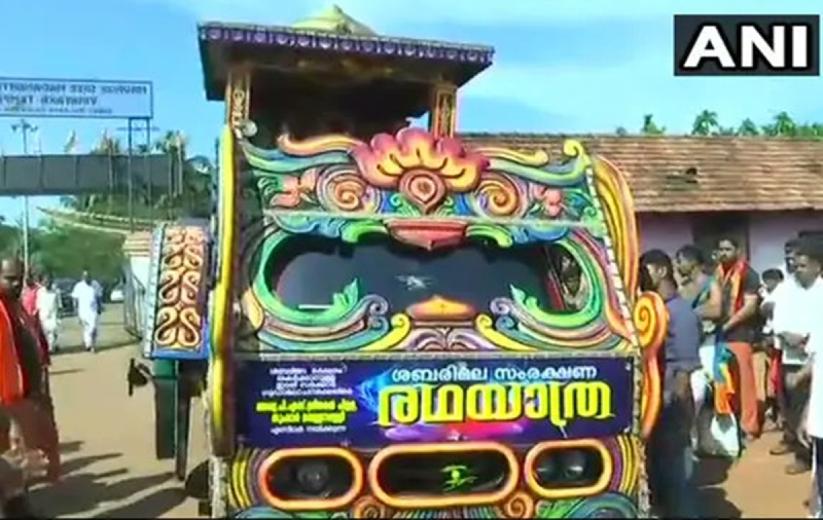 Sabarimala row: BJP launches Rath yatra to 'protect' traditions and rituals of Lord Ayyappa shrine