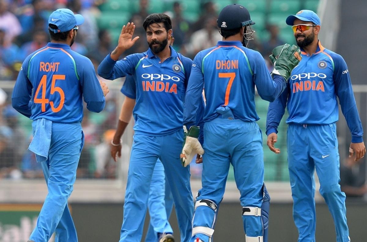 India vs Australia 1st ODI: Australia opt to bat, Jadeja included in place of Yuzvendra Chahal
