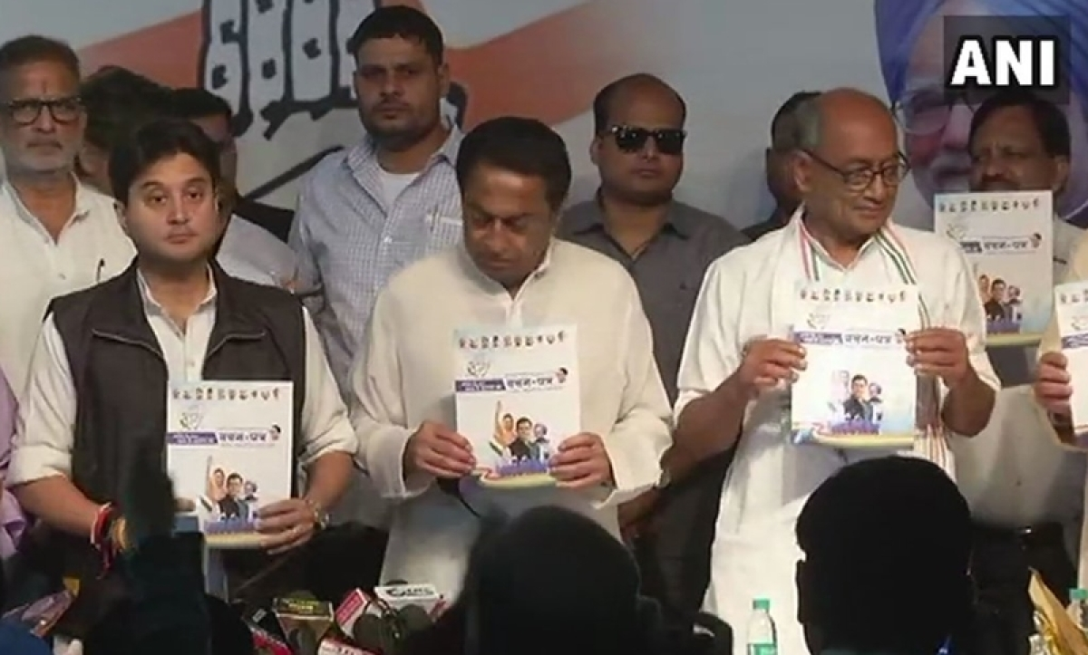 MP Assembly elections 2018: Congress releases manifesto; promises loan waiver, 50% subsidy on loans for agri equipment