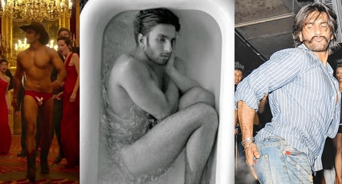 From chaddi walk to semi nudes, 7 times Ranveer Singh was the craziest Bollywood star