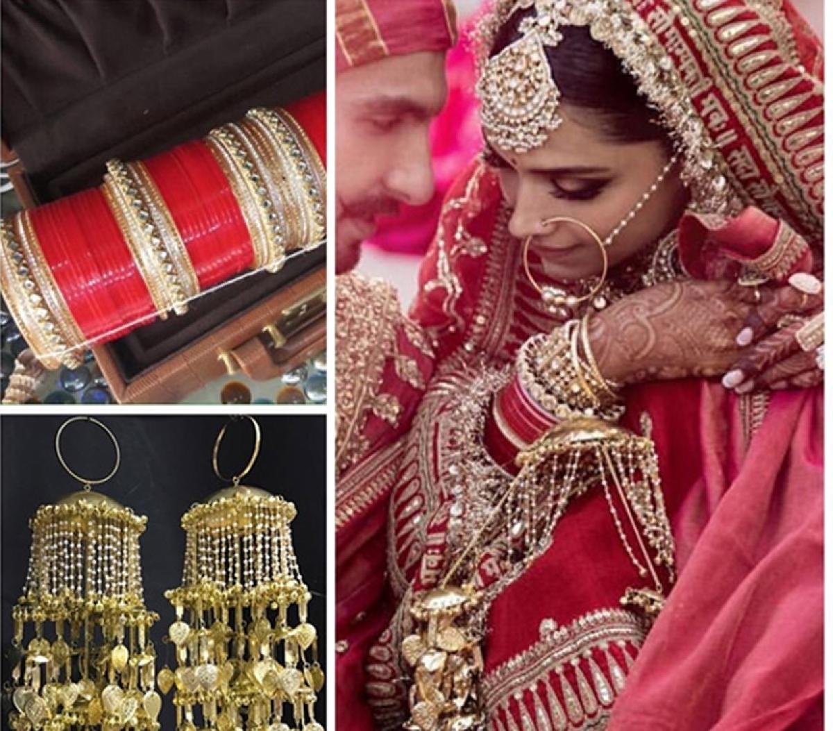 #DeepVeerkishaddi: Asneak peek at Deepika's stunning Punjabi Chura and Kaleeras!