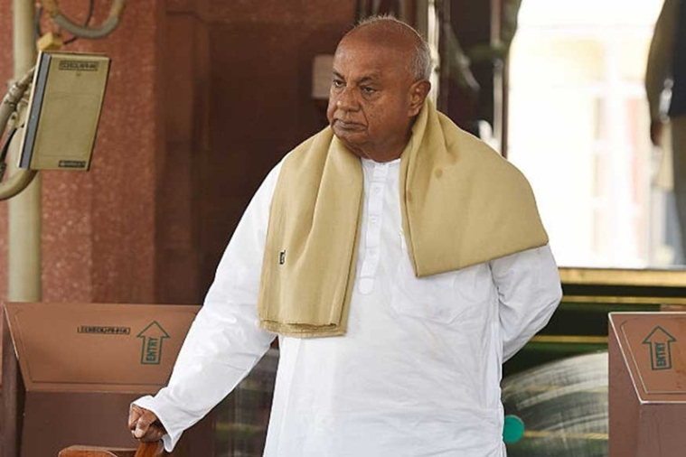 Deve Gowda to contest from Tumkur constituency