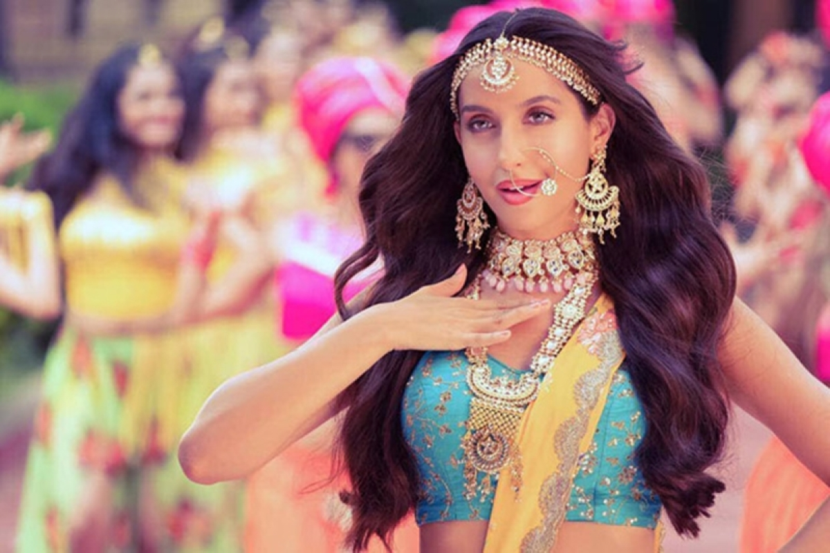 Desirable Nora Fatehi sizzles in the Arabic version of 'Dilbar'