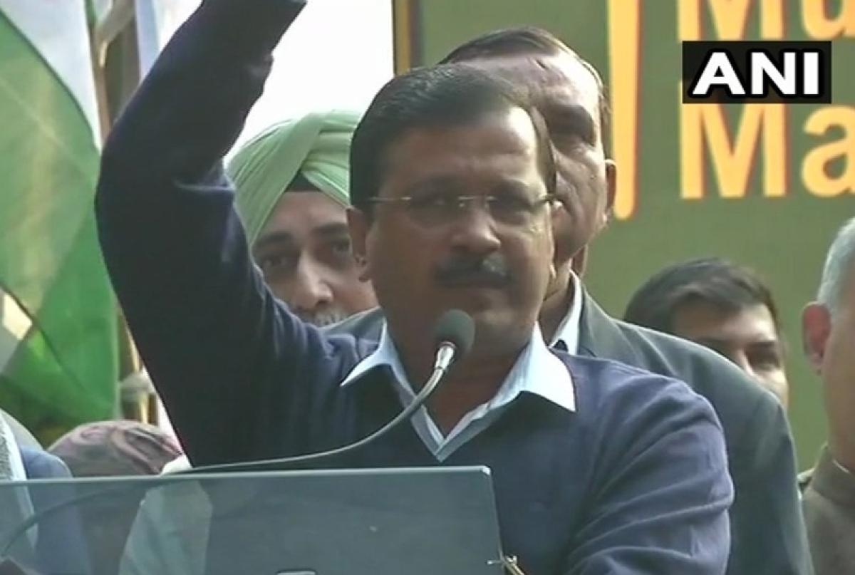 Kisan Mukti Morcha: Modi govt stabbed farmers in the back, says CM Arvind Kejriwal