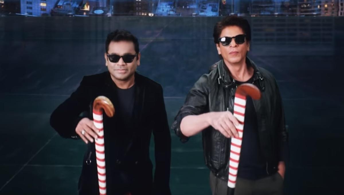 Teaser of Hockey Men's World Cup title song featuring AR Rahman, Shah Rukh Khan out!