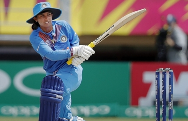 Mithali Raj plays a shot during Women's World T20 match. PTI Photo
