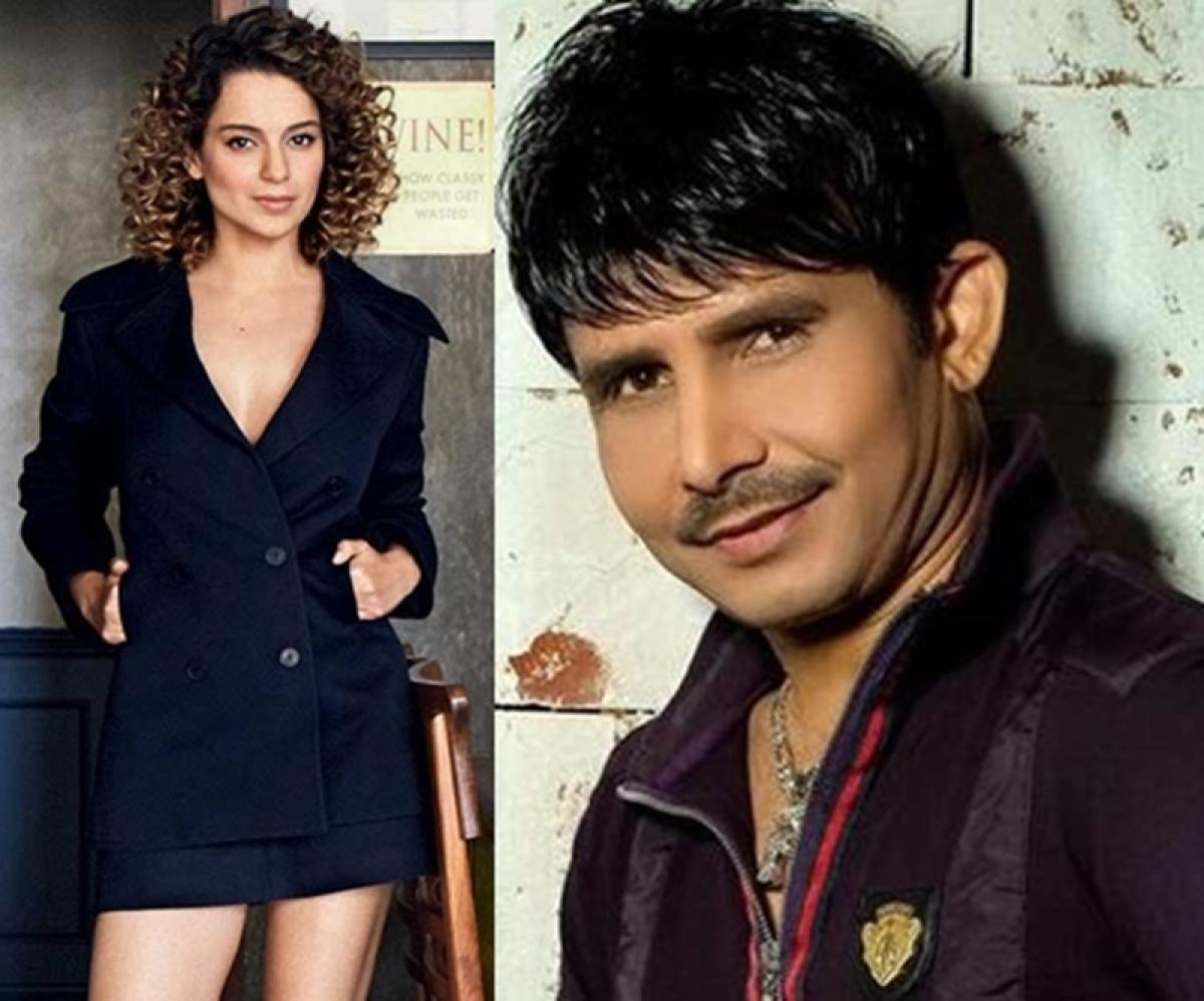 Kamaal R Khan blames Kangana Ranaut for performing black magic on him