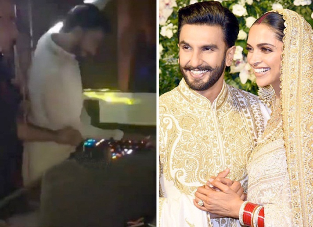 Ranveer Singh transforms into a lovelorn livewire on the dance floor at their Mumbai reception; Watch video