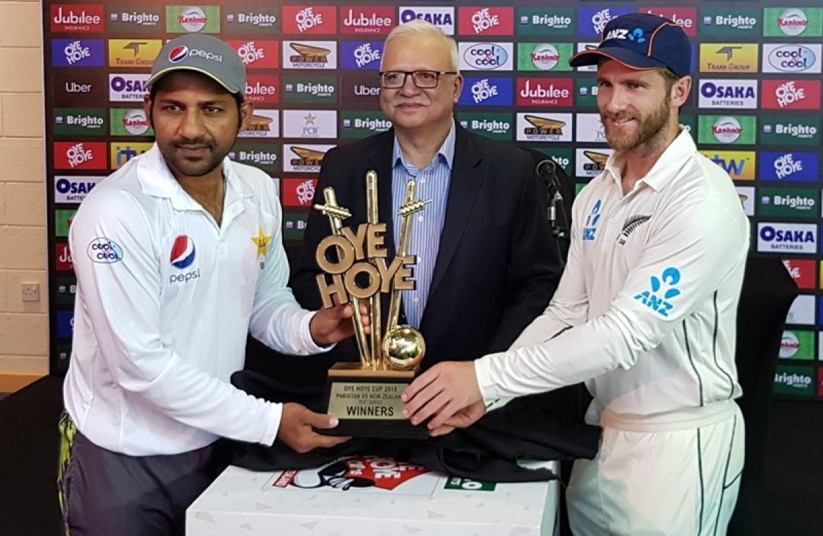 'Oye Hoye' Kya Baat! Twitterati on fire as Pakistan unveils another bizarre trophy for New Zealand series after hilarious 'Biscuit Trophy'