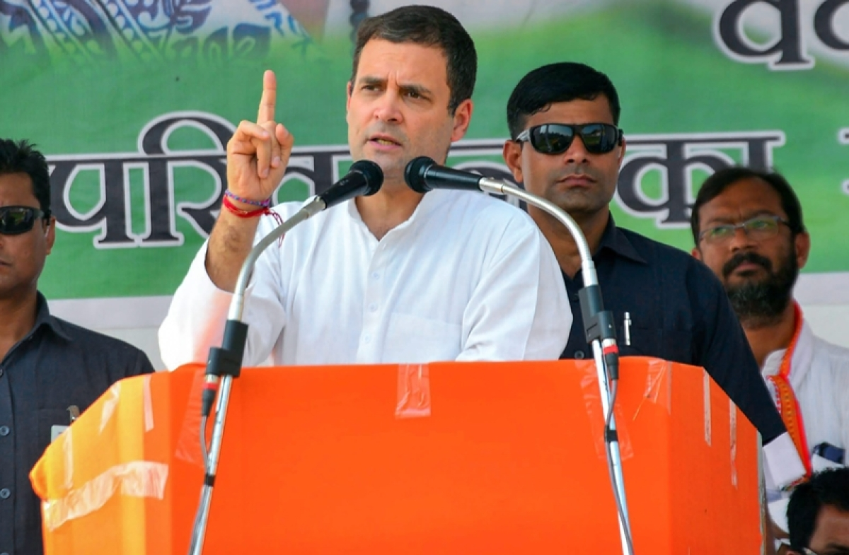 Rahul goes ballistic against Modi, MP CM