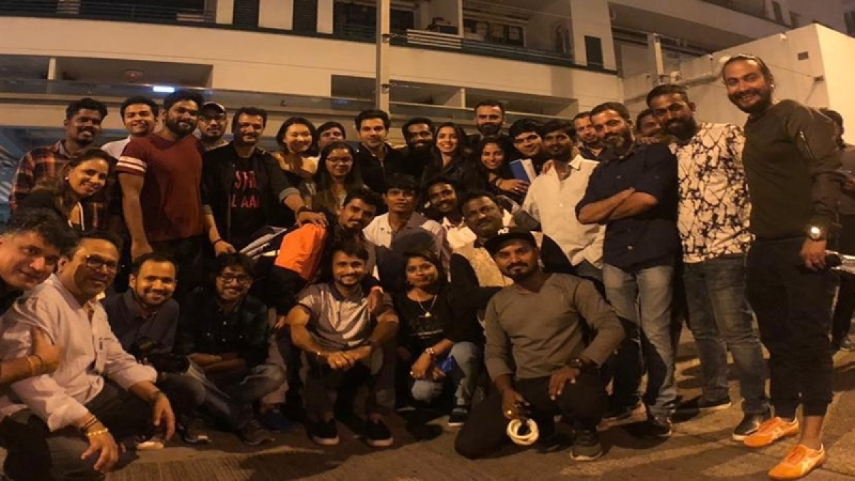 Rajkummar Rao wraps up 'Made In China', shares group picture