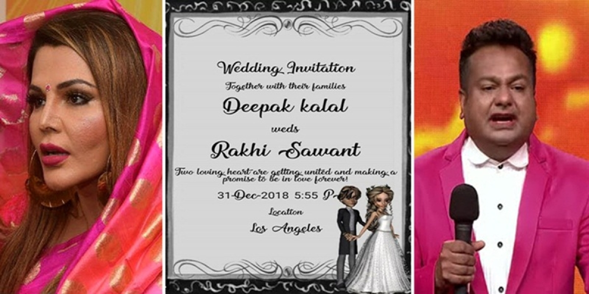 What! Rakhi Sawant to tie the knot with Deepak Kalal on December 31? Check wedding card inside