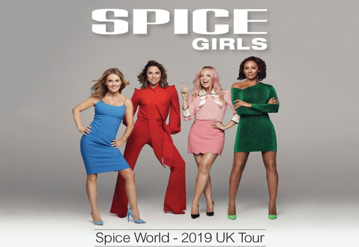 Spice Girls 'incredibly excited' to announce Spice World tour