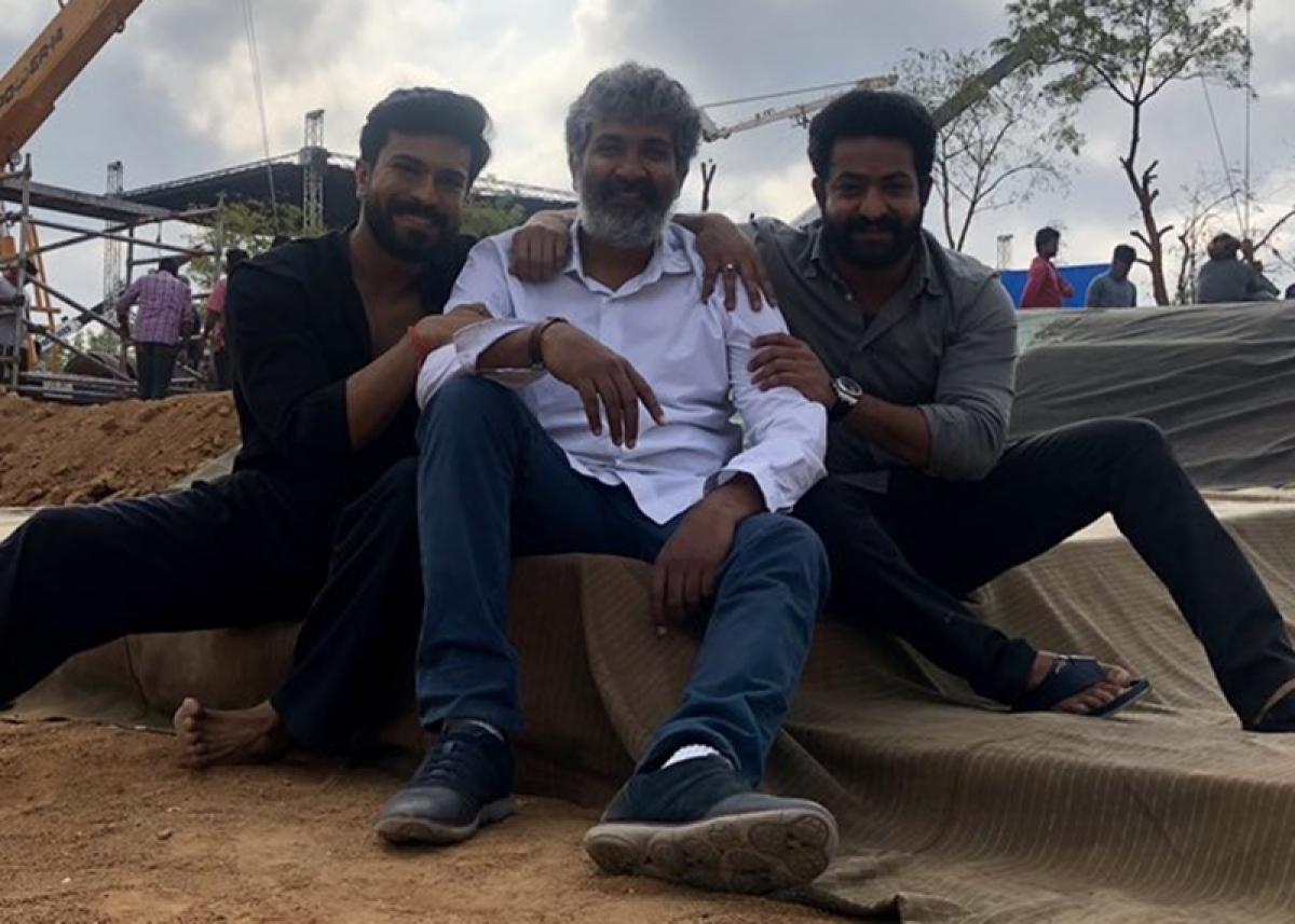 'Baahubali' director SS Rajamouli's next film starring Jr. NTR and Ram Charan 'starts rolling'