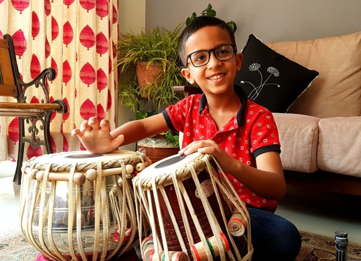 TEDxGateway 2018: Seven-year-old Shayaan Udeshi is uniting the world with music