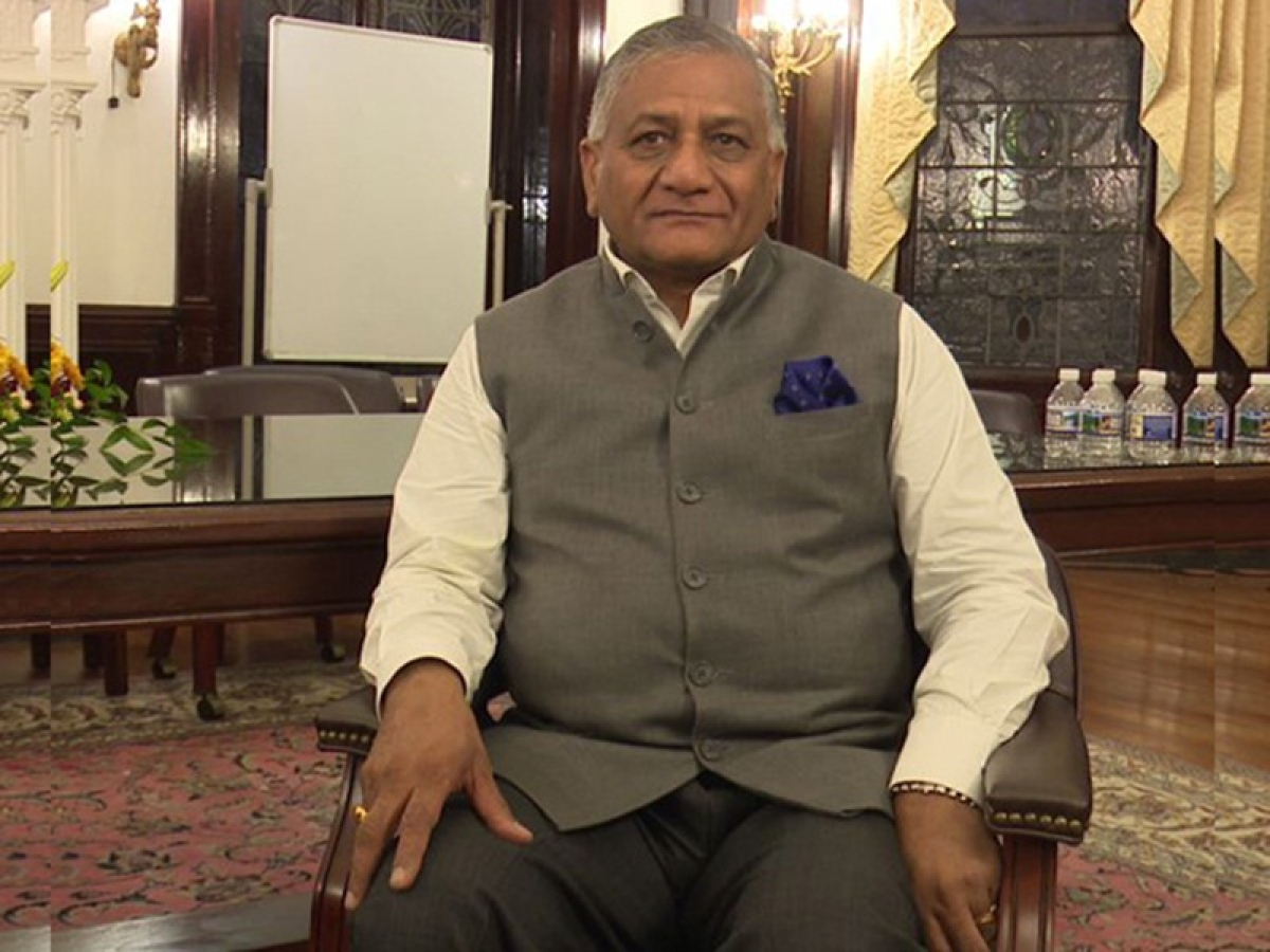 V K Singh raises questions over HAL's condition, capability