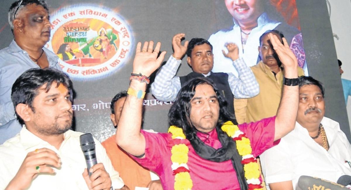 Devki Nandan Thakur's plunge into state politics